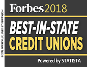 Forbes Best in State Credit Unions