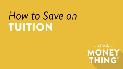 How to Save on Tuition